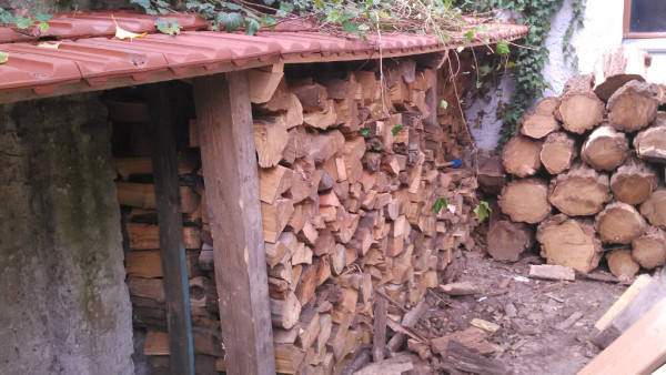 Dach fürs Holz